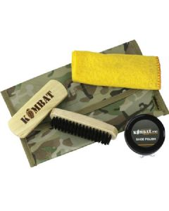 Kombat uk Military Black Boot Care Kit BTP/ MTP Multicam